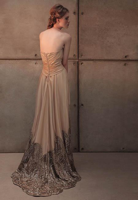 Vestido para invitadas - Eduardo Andés